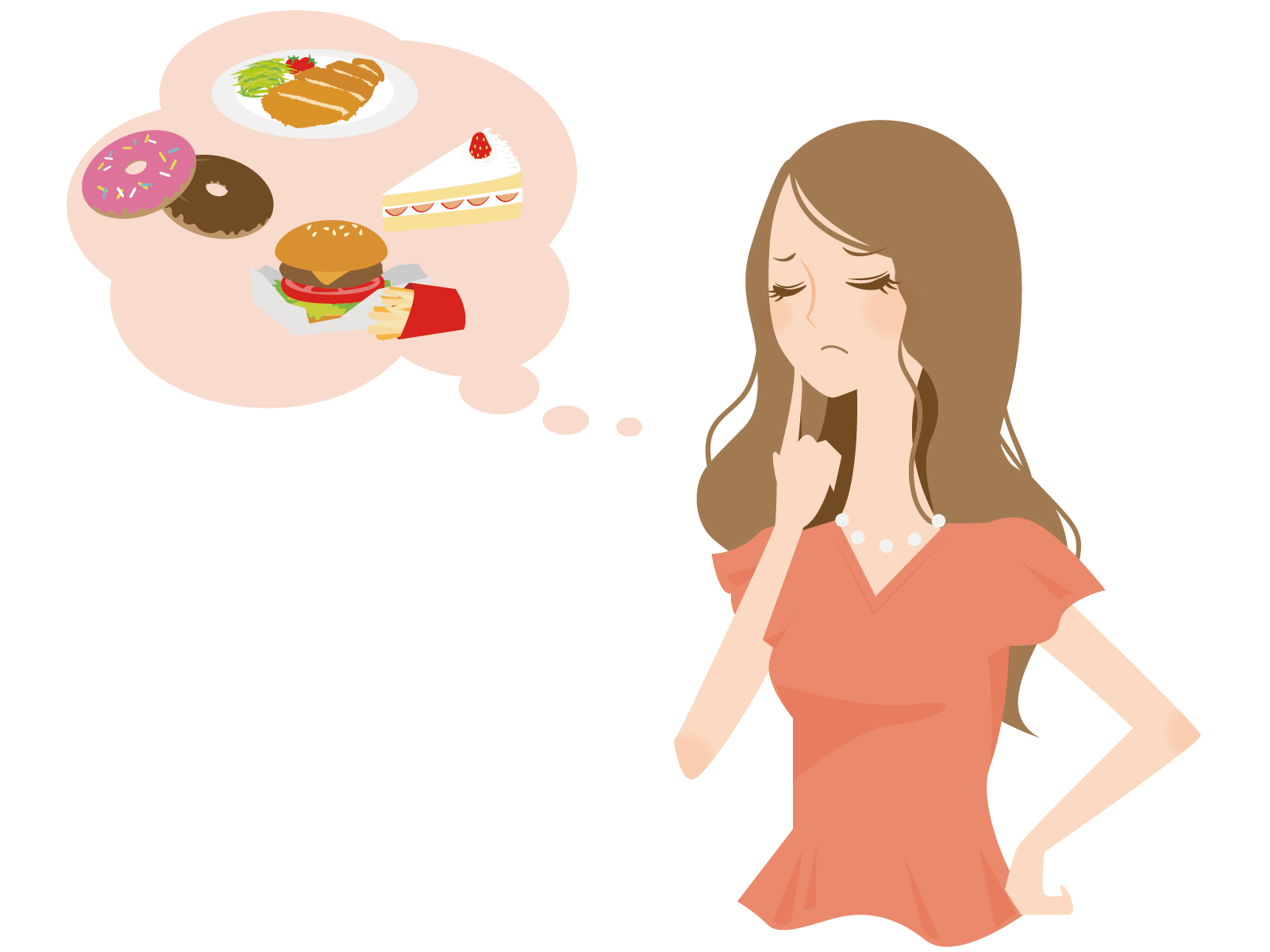 の 食欲 中 生理